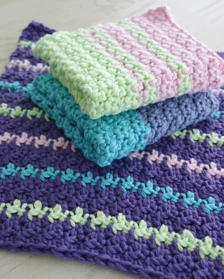 17 Free Crochet Dishcloth Patterns That'll Make You Want to