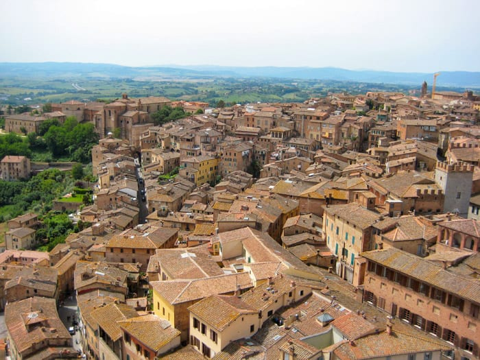 Siena, Italy - places to travel in Europe