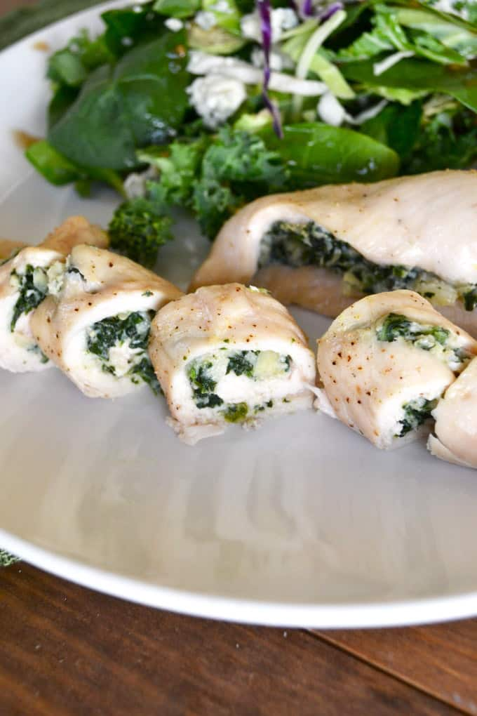 Spinach Artichoke Stuffed Chicken - gluten free meals