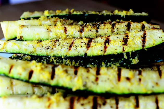 Yummy Grilled Zucchini - gluten free meals