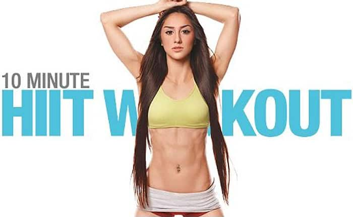 10 Minute Beginner HIIT Workout