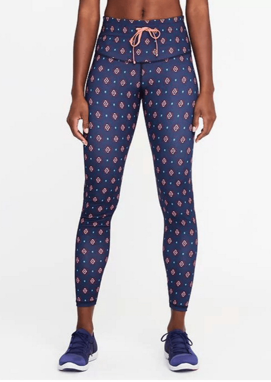 old navy leggings - yoga gifts