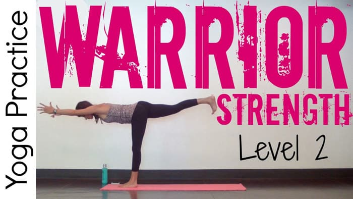 30 Minute Power Yoga — Warrior Strength - yoga flow