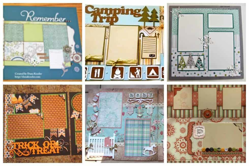 Scrapbook Templates | 17 Incredible Scrapbook Templates To Inspire Your Next Project