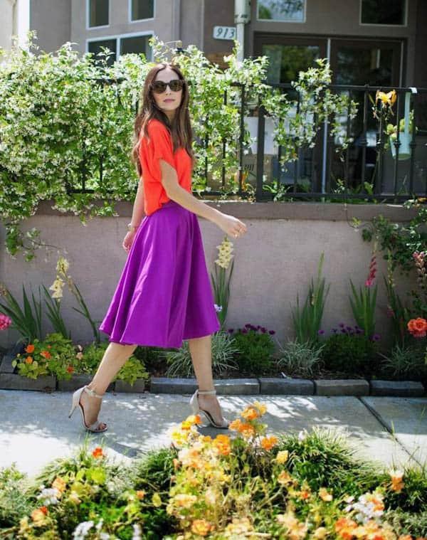 Easy Circle Skirt - how to sew clothes