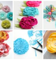 16 Easy Fabric Flowers to Sew for Your Next Project
