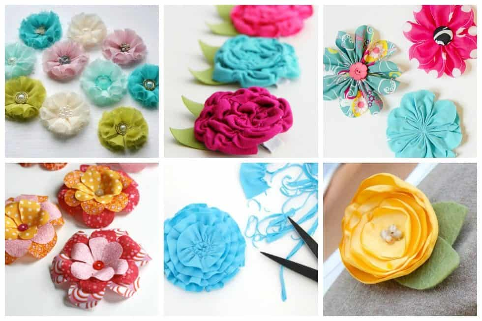 You certainly don't have to worry about these flowers dying with our list of 16 easy fabric flowers to sew for your next project.
