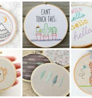 17 Fun Projects That Are a Perfect Way To Learn Embroidery