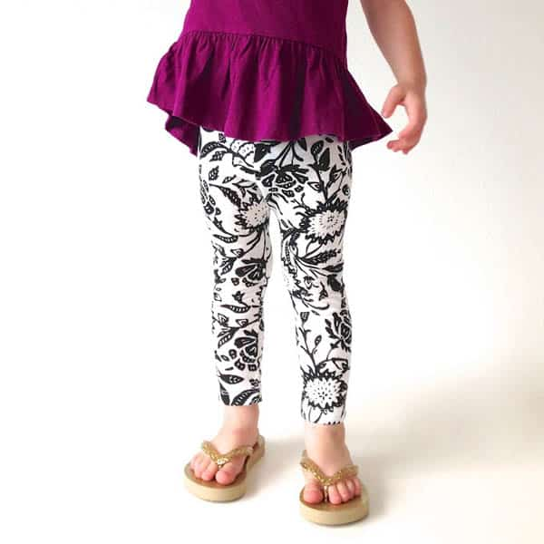 Leggings - how to sew clothes