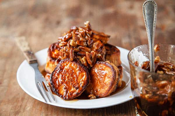 Melting Sweet Potatoes With Maple-pecan Sauce - gluten-free desserts