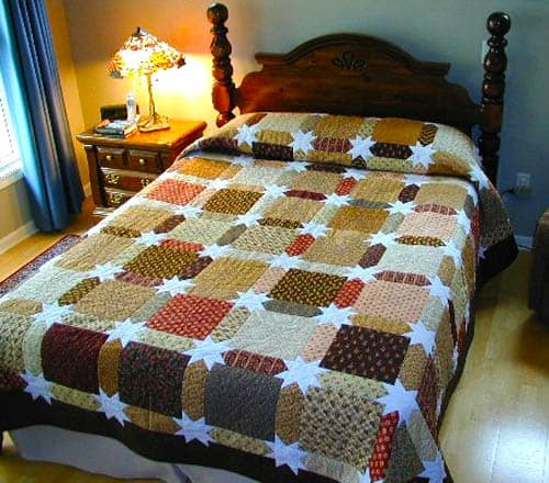 Morning Star Quilt - country quilts