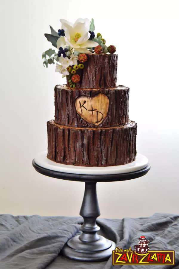 17 Wedding Cake Decorating Ideas Perfect For Rustic