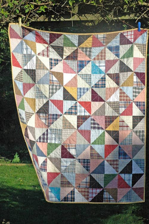 Shirt Quilt - country quilts
