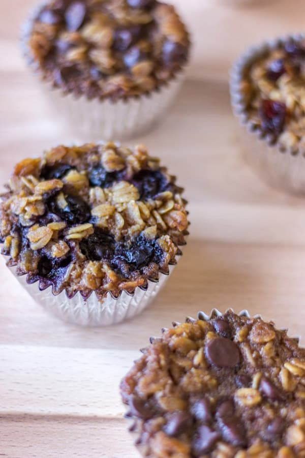 To-Go Baked Oatmeal - gluten-free desserts