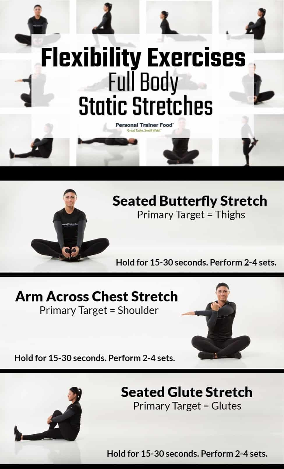 Full Body Static Stretching - stretching routines