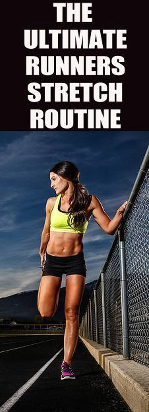 The Ultimate Runner's Stretch Routine - stretching routines