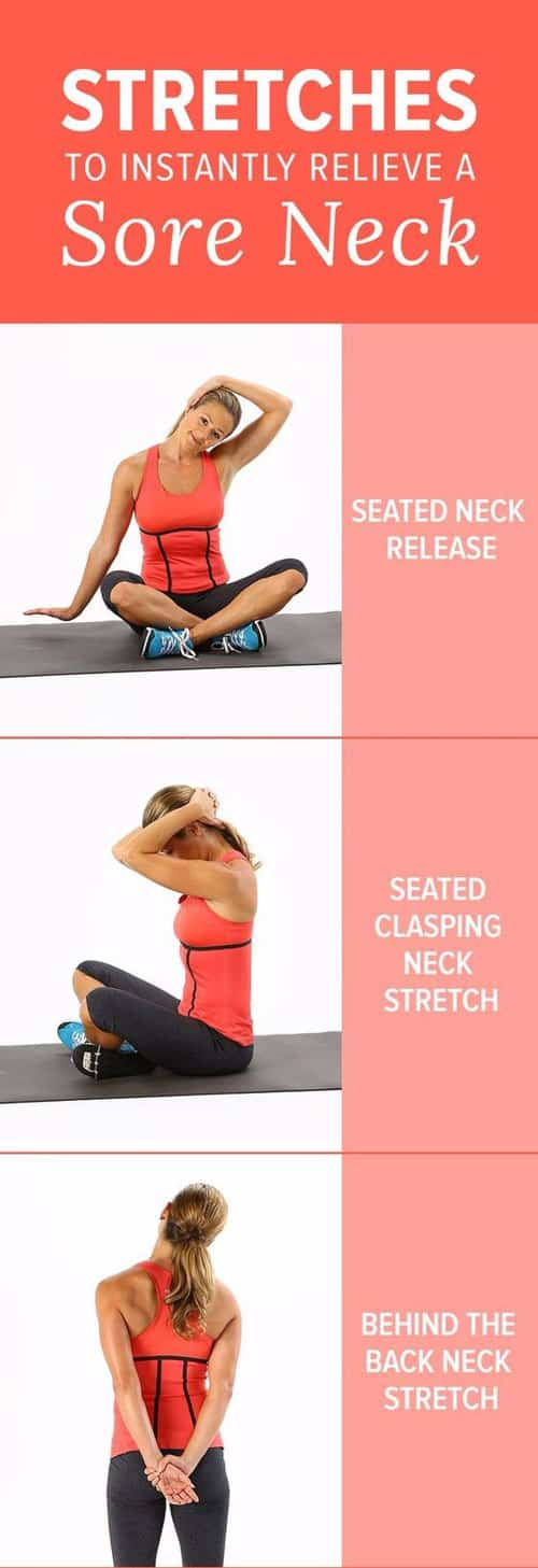 Stretches To Relieve a Tight Neck