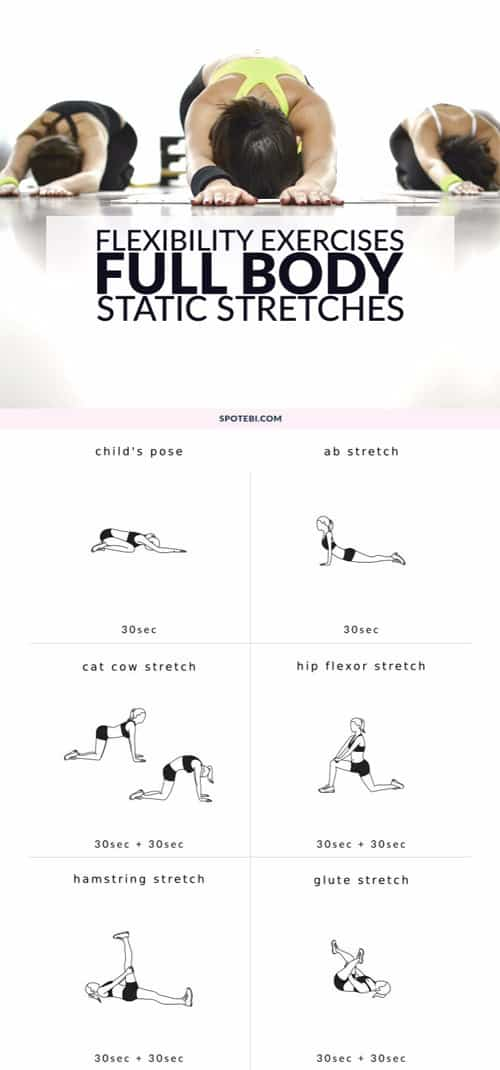 Full Body Static Stretches