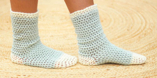 15 Crochet Socks Youll Want To Make This Fall Ideal Me