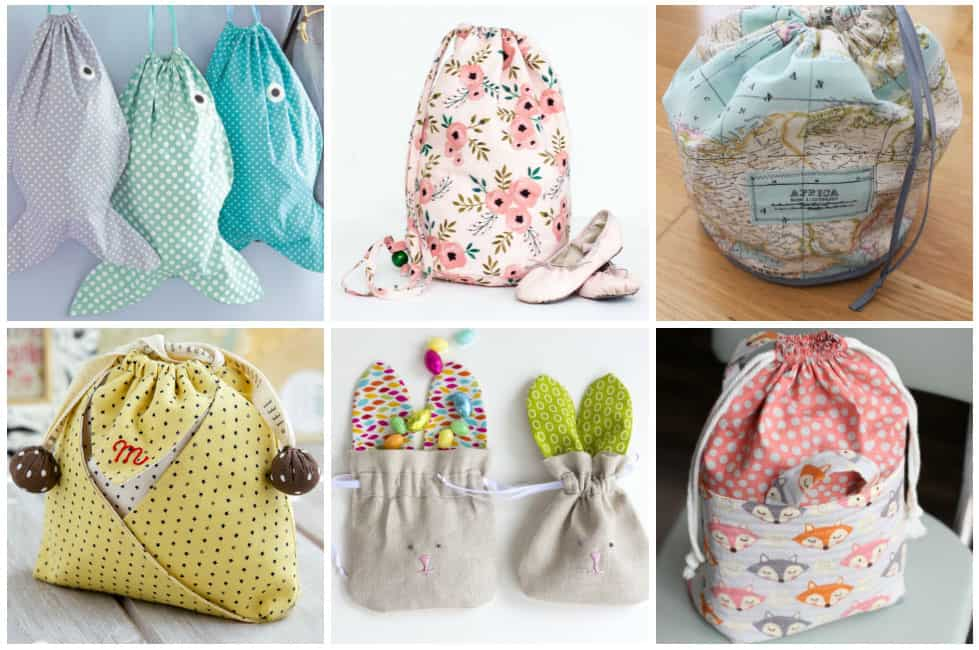 60 Easy Drawstring Bag Patterns To Sew In One Hour Or Less Ideal Me Mesmerizing Drawstring Bag Pattern