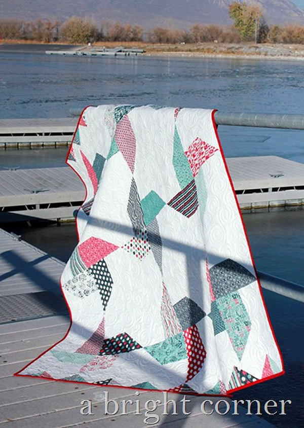 Jolly Pinwheels Quilt - pinwheel quilt patterns
