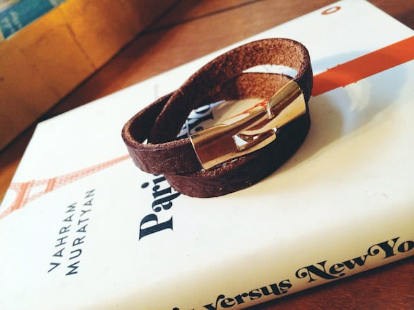Leather Cuff - easy DIY bracelets