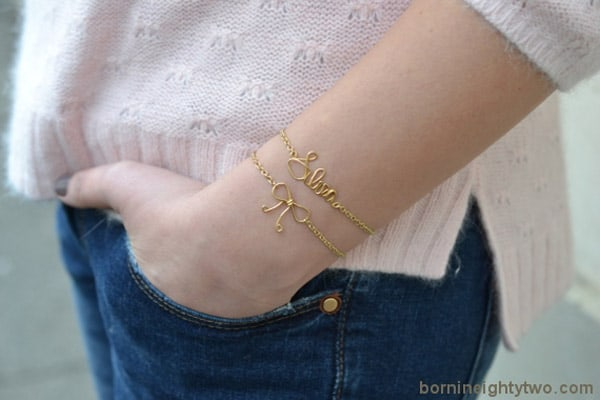 Your Name Bracelet - easy DIY bracelets