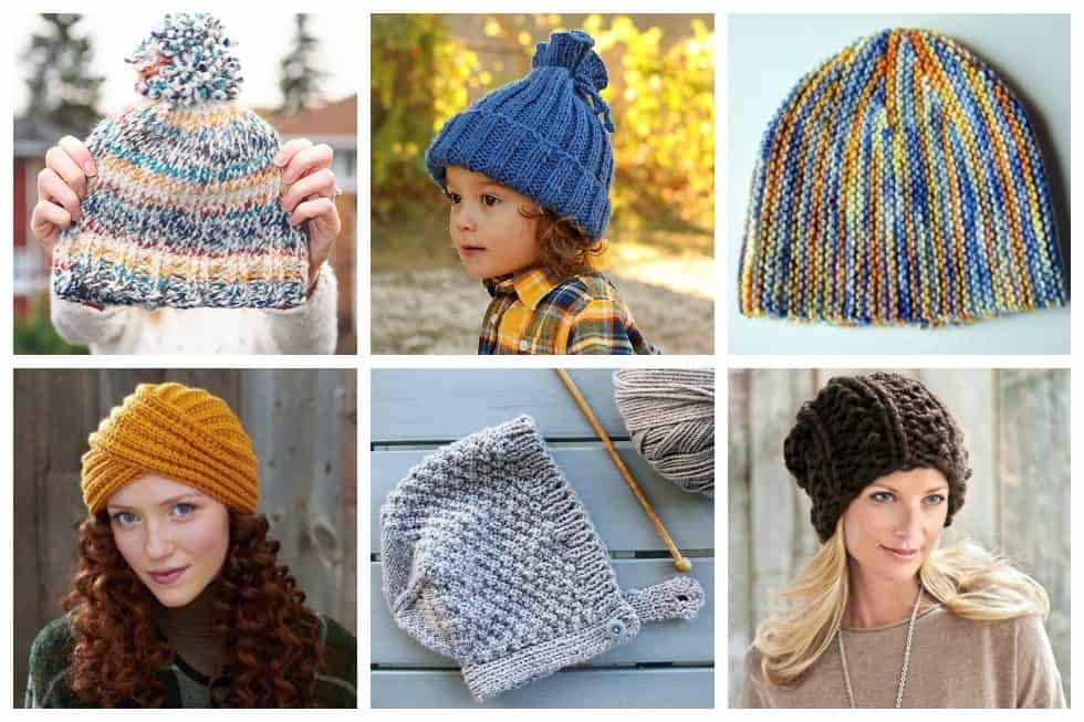 Check out these 13 hat knitting patterns that we've picked out specifically for beginners in mind.