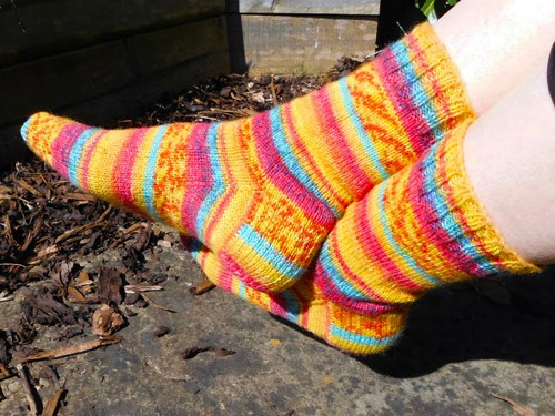 Basic 4-Ply - sock knitting patterns