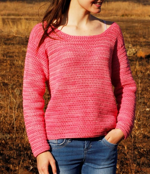 Country Girl - free crochet sweater patterns