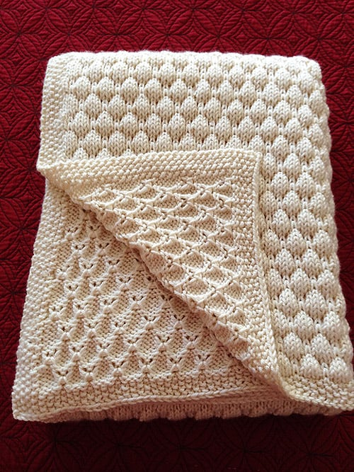Dean's - free baby blanket knitting patterns