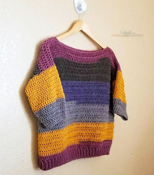 Everygirl - free crochet sweater patterns