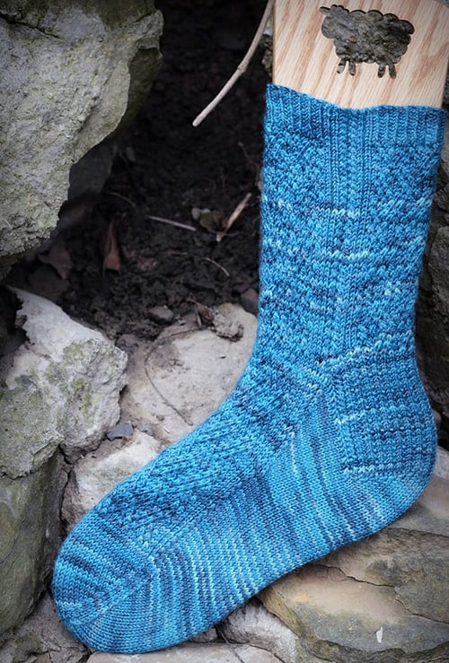 Inlay - sock knitting patterns