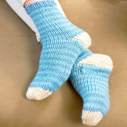 12 Sock Knitting Patterns For Beginners Using Circular Needles
