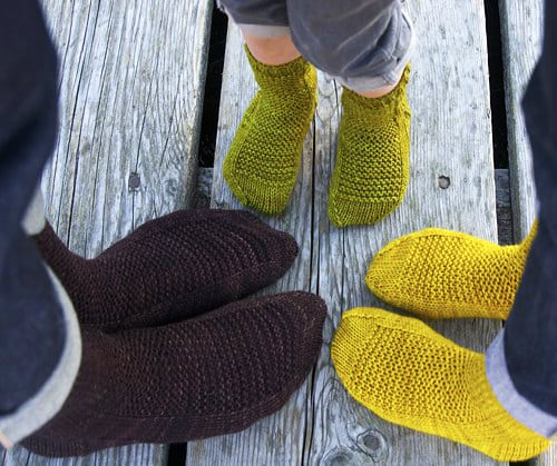 Rye - sock knitting patterns