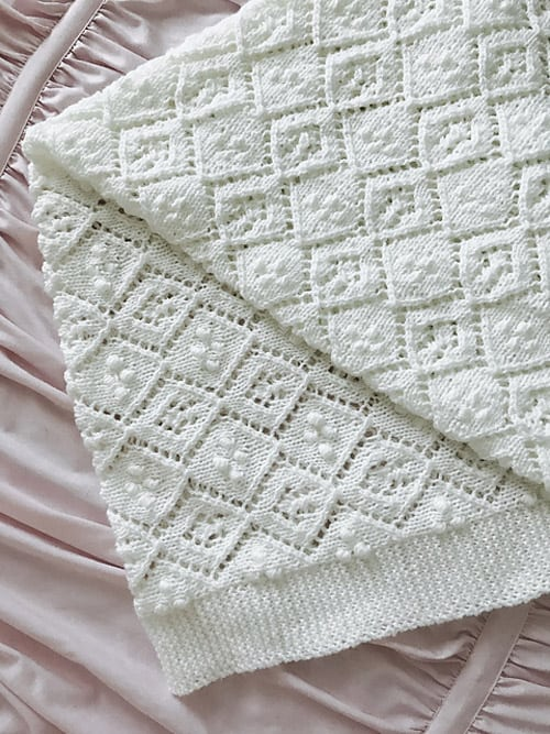 Thine Receiving - free baby blanket knitting patterns