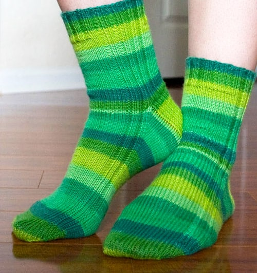 Vanilla - sock knitting patterns