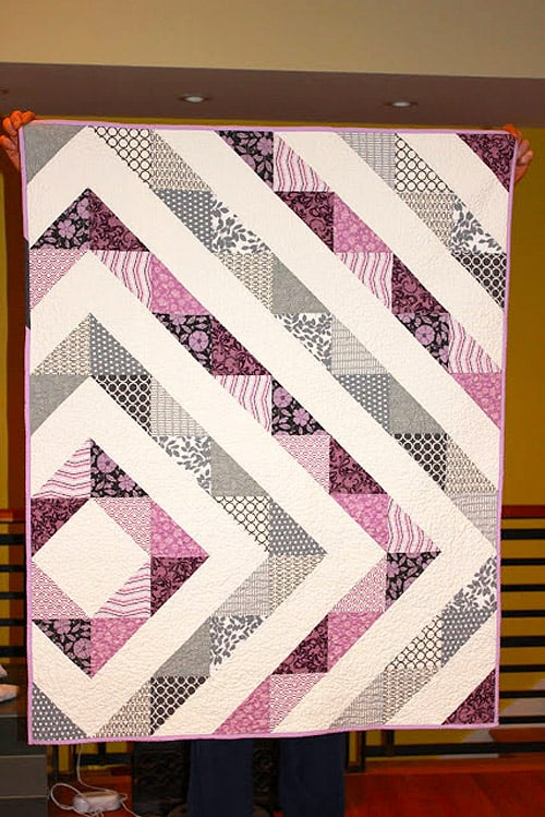 60 Easy Baby Quilt Patterns To Make For Your Pregnant Friends Ideal Me Enchanting Easy Baby Quilt Patterns