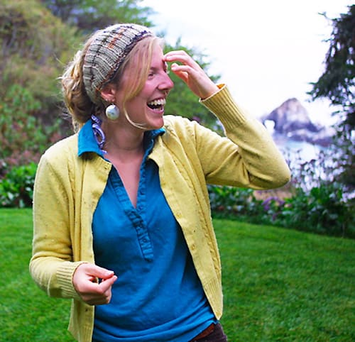 Calorimetry Headscarf - one-skein knitting patterns