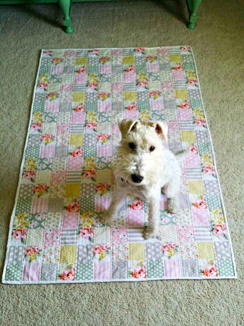 60 Easy Baby Quilt Patterns To Make For Your Pregnant Friends Ideal Me Gorgeous Easy Baby Quilt Patterns
