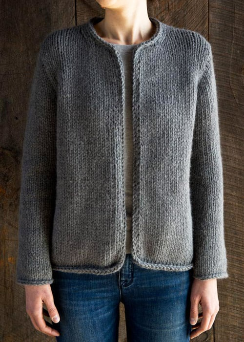 Classic Knit Jacket - knit sweater patterns