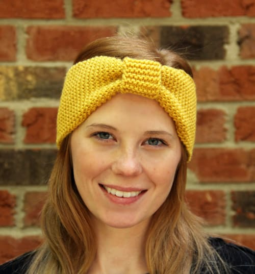 Ear Warmer - one-skein knitting patterns