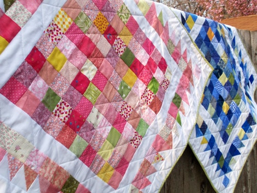 Hundred Hugs - easy baby quilt patterns