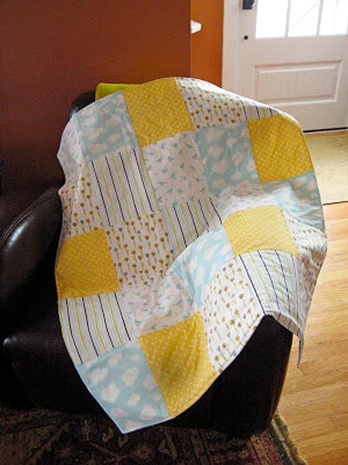 60 Easy Baby Quilt Patterns To Make For Your Pregnant Friends Ideal Me Inspiration Easy Baby Quilt Patterns