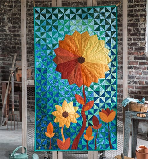 garden - contemporary quilts