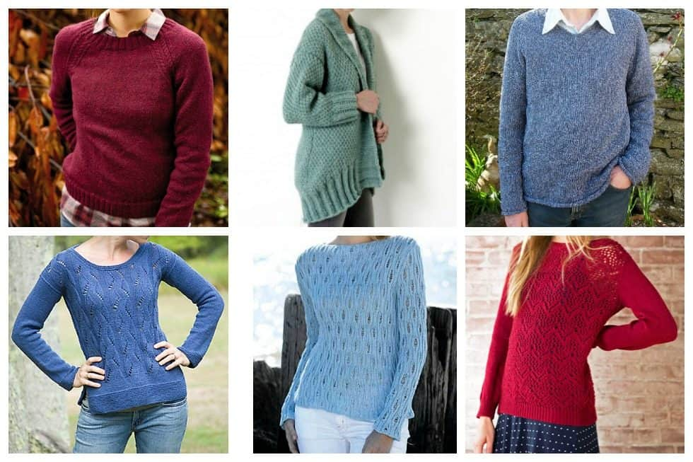 15 Knit Sweater Patterns Youll Be Dying To Knit Ideal Me
