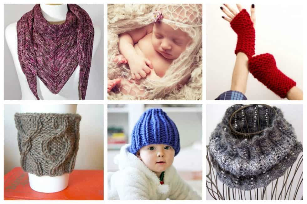 15 One-Skein Knitting Patterns for Beginners - Ideal Me
