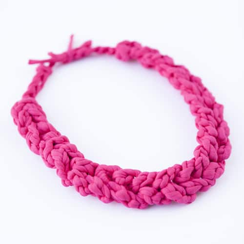 Funky Chunky Necklace - quick crochet projects