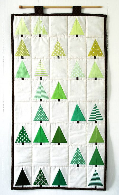 Lovely Little Forest - mini quilt patterns
