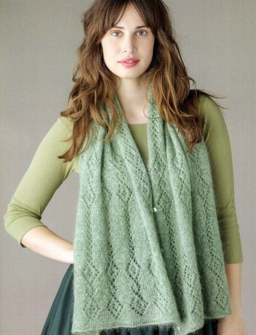 Multiway Stole - lace knitting patterns